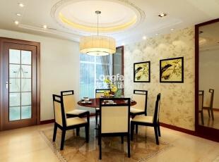 ,160平,7万,中式,三居,餐厅,黄色,