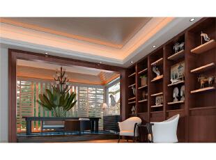 本设计定义为东南亚。将东南亚元素和现代感素材融为一体,使整个设计高雅,脱俗。整个空间以简洁的艺术造型和富有现代感的色彩构成,采用中**调,稳重,大气,却又不失品位。,390平,混搭,别墅,现代,中式,新古典,小资,原木色,