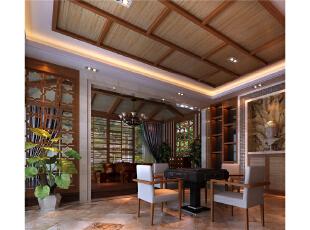 本设计定义为东南亚。将东南亚元素和现代感素材融为一体,使整个设计高雅,脱俗。整个空间以简洁的艺术造型和富有现代感的色彩构成,采用中**调,稳重,大气,却又不失品位。,390平,25万,混搭,别墅,新古典,中式,小资,原木色,