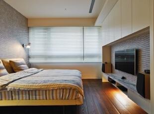 ,140平,15万,现代,三居,卧室,黑白,