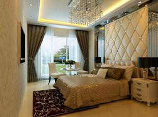 ,150平,83000万,现代,三居,卧室,黄色,白色,