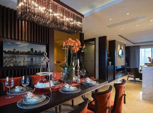 上东城91平方两室两厅新中式装修效果图 餐厅,91平,6万,中式,两居,餐厅,黑白,
