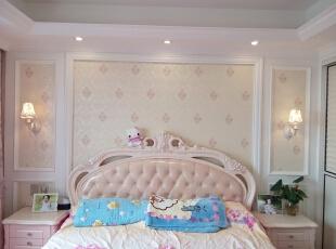 ,160平,38万,欧式,四居,卧室,粉色,