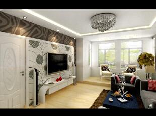 """此户型以简约现代为主题,柔和的视觉感受演绎了现代东方之灵性,及舒适又实用。这套设计的灵感来自于业主的行业,业主是做景观园林设计的,喜欢淡雅的色彩,喜欢干净利落的线条,将园林的相关元素放到室内。这套实际真正顺应了现代家装设计""""轻装修,重装饰""""的主流理念,简单干净基础装修,恰到好处的家具和饰品搭配,使得空间整洁干净干练,随意的布局,半透明的空间分割,不仅仅满足了美观的要求,更巧妙地避免了压抑感,赢得了开敞使用的休闲空间,业主的休闲逸趣在自己家中的体现得淋漓尽致。,135平,11万,现代,三居,客厅,黑白,"""