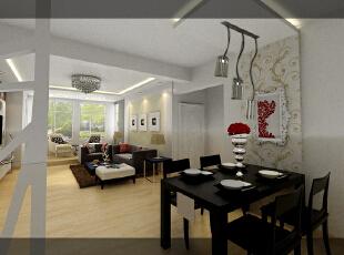 """此户型以简约现代为主题,柔和的视觉感受演绎了现代东方之灵性,及舒适又实用。这套设计的灵感来自于业主的行业,业主是做景观园林设计的,喜欢淡雅的色彩,喜欢干净利落的线条,将园林的相关元素放到室内。这套实际真正顺应了现代家装设计""""轻装修,重装饰""""的主流理念,简单干净基础装修,恰到好处的家具和饰品搭配,使得空间整洁干净干练,随意的布局,半透明的空间分割,不仅仅满足了美观的要求,更巧妙地避免了压抑感,赢得了开敞使用的休闲空间,业主的休闲逸趣在自己家中的体现得淋漓尽致。,135平,11万,现代,三居,客厅,餐厅,黑白,"""