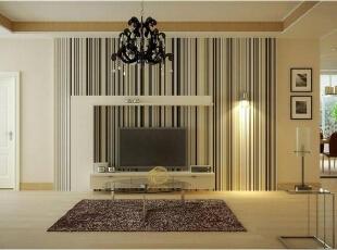 ,88平,8万,中式,两居,客厅,原木色,白色,简约,