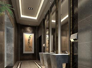 ,50000平,1500万,混搭,公装,黑白,原木色,卫生间,新古典,