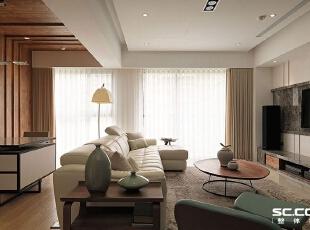 ,140平,18万,现代,三居,客厅,黑白,