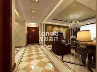 石家庄维多利亚199㎡户型新古典风格装修效果图案例,199平,8万,新古典,四居,