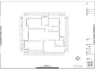 原始平面图,从平面来看第一眼没有公共的卫生间,平时上卫生间很不方便,要从卧室进去。,157平,15万,现代,三居,客厅,