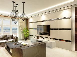 ,157平,15万,现代,三居,客厅,黑白,