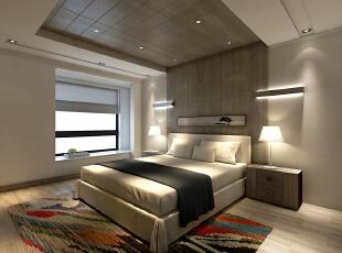 ,157平,15万,现代,三居,卧室,白色,