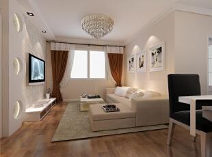 ,87平,6万,现代,两居,玄关,白色,原木色,粉色,客厅,简约,日式,