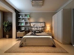 ,135平,5万,现代,三居,卧室,黄色,