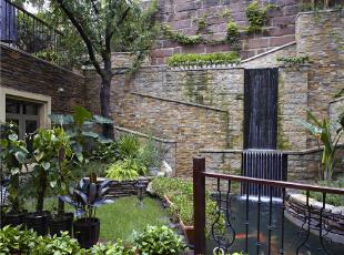 花园—迪梵宜设计,357平,200万,美式,别墅,阳台,春色,
