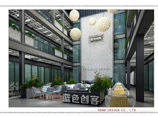 办公楼设计 150516 02,南宁办公室设计,办公空间设计,办公楼设计,曾华照,办公室设计,