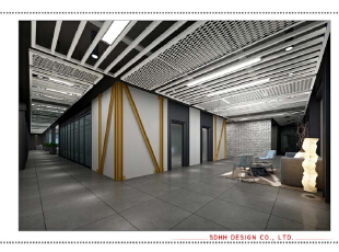 办公楼设计 150516 06,南宁办公楼设计,办公室设计,办公空间设计,写字楼设计,曾华照,