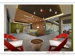 办公空间设计 150703 01,南宁办公室设计,曾华照,办公楼设计,办公空间设计,办公装修设计,