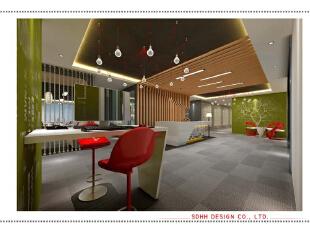办公空间设计 150703 02,南宁办公室设计,曾华照,办公空间设计,办公楼设计,办公室装修设计,