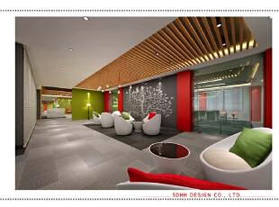 办公空间设计 150703 03,办公室设计,办公楼设计,曾华照,南宁办公室设计,办公空间设计,