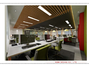 办公空间设计 150703 07,办公室设计,办公室装修设计,曾华照,办公楼设计,办公空间设计,