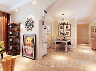 锦艺轻纺城装修案例160平四室两厅简欧风格效果图,140平,10万,欧式,四居,餐厅,黄色,
