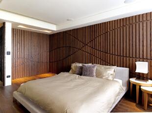 ,现代,大户型,卧室,西山艺境,简约,卧室,原木色,白色,