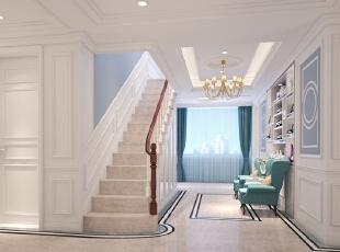 ,540平,80万,欧式,别墅,阁楼,白色,蓝色,