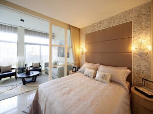 ,200平,45万,现代,四居,卧室,黄色,