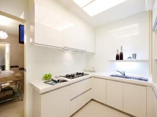 ,200平,45万,现代,四居,厨房,白色,
