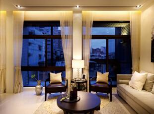 ,200平,45万,现代,四居,客厅,黄色,
