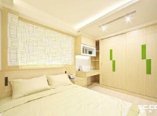 ,136平,18万,日式,三居,卧室,黄色,