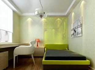 整套设计方案围绕现代简约为主题,色彩对比强烈,简洁,明快,使空间感增强。 简洁和实用是现代简约风格的基本特点。此方案在经济、实用、舒适的同时,体现一定的品味。不仅注重居室的实用性,而且还体现出了现代社会生活的精致与个性,符合现代人的生活品位。墙面的装饰,更体现现代简约的之感。 创造一个温馨,健康的家庭环境。不需要多复杂,不需要多奢华,高纯度色彩加线条简洁的家具,营造一个现在舒适的家。现在简约的风格,让我们劳累了一天回到家里感受到的不再是工作时的那种紧张感,而是在一个简单环境下,让我们放松自己的心灵,让我们精致细节将生活演绎的生动美好。,86平,6.1万,现代,两居,卧室,绿色,白色,
