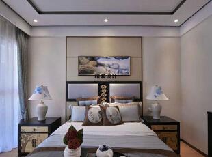 上东城144平方四室两厅现代简约装修效果图 卧室,144平,10万,现代,四居,卧室,