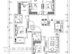 蓝堡湾189平五室两厅现代简约装修户型图,189平,30万,现代,大户型,
