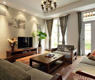 250平米中式风格公寓
