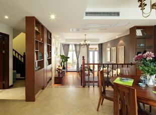 ,250平,30万,中式,公寓,餐厅,原木色,黄色,