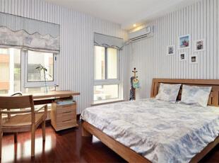 ,250平,30万,中式,公寓,卧室,白色,原木色,