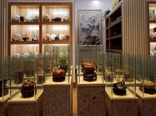 清风和院-中式公装-六秒白茶