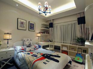 ,120平,10万,现代,四居,卧室,白色,