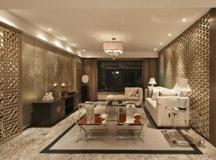 ,380平,28万,现代,大户型,客厅,黄色,