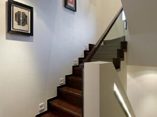 ,340平,49万,中式,别墅,楼梯,白色,原木色,
