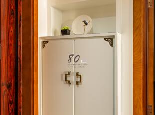 ,130平,4万,混搭,三居,卧室,白色,原木色,