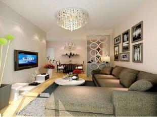 ,60平,3万,简约,两居,客厅,白色,原木色,