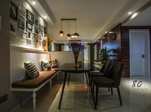 ,130平,4万,现代,三居,客厅,黑白,