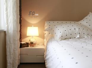 ,130平,4万,现代,三居,卧室,白色,