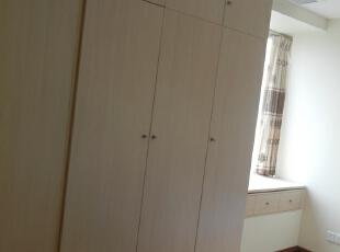 ,90平,20万,简约,三居,卧室,原木色,白色,