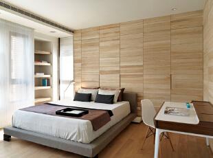 ,155平,20万,现代,三居,卧室,原木色,