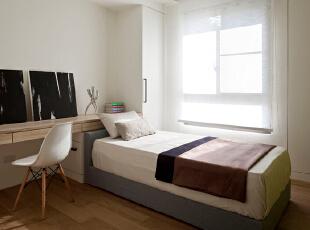 ,155平,20万,现代,三居,卧室,白色,
