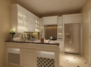 ,180平,480万,现代,别墅,厨房,白色,